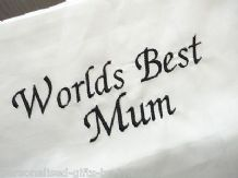 PERSONALISED PILLOWCASE ANY MESSAGE CAN BE ADDED